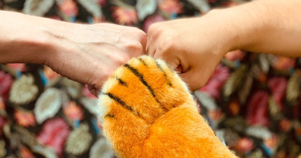Roary Tigerpaw and others show support for Clover Imaging Group.