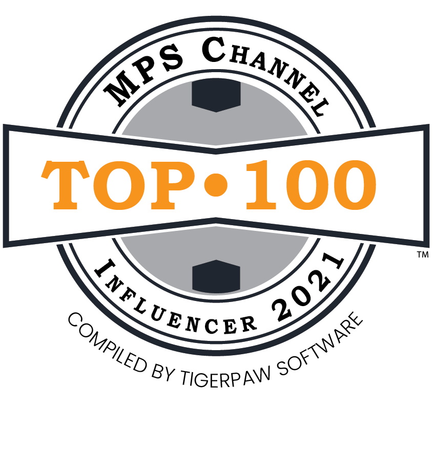 MPS Top 100 Channel Influencer badge